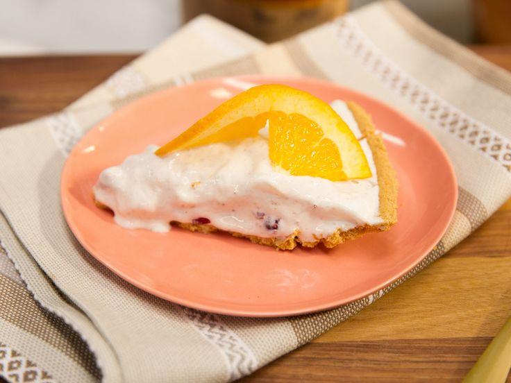 Sunny's Nunya Business Cranberry Fluff Pie recipe from Sunny Anderson via Food…