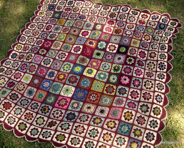 DSCF4021 - Photo de plaids et couvertures crochet - clothogancho2