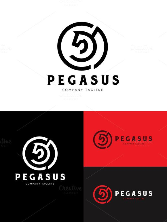 162 best logo template images on pinterest logo templates pegasus logo templates logo template features 100 scalable vector files everything is editable everything i by super pig shop pronofoot35fo Choice Image