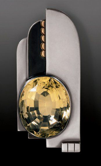 Bijou Art déco et Avant-garde/Jean Després, pendentif, 1932_Brant Foundation Greewich, CT, USA_Bruce M. White
