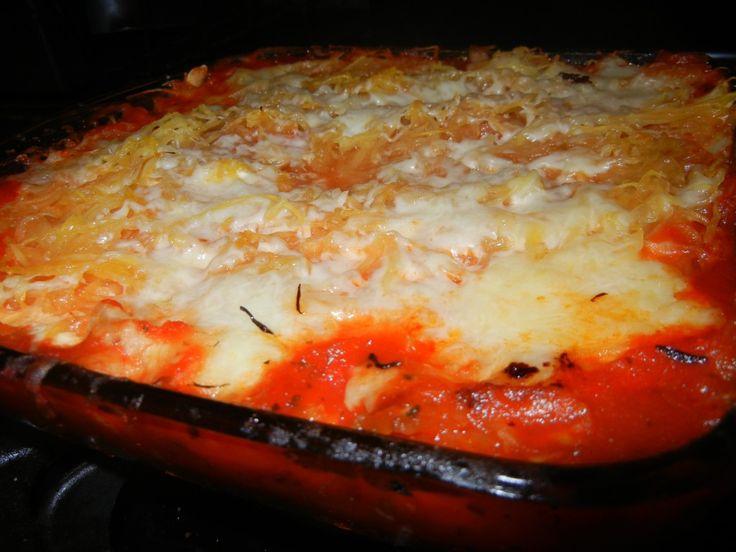 spaghetti squash lasagna bake | Yum- food | Pinterest