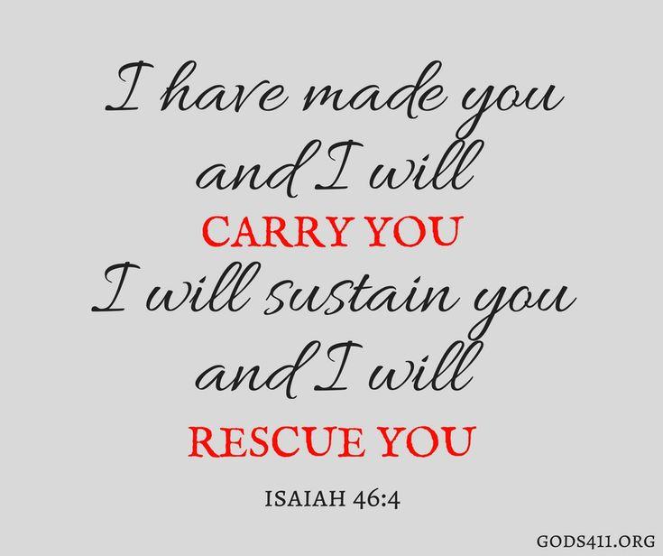 Isaiah 46:4   Bible Verses