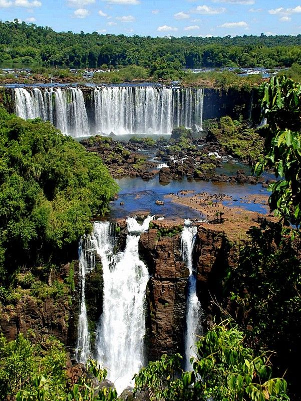 Iguazu Falls, Iguazu National Park, Argentina. SALTO TRES MOSQUETEROS ! - Puerto Iguazu, Misiones