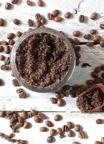 Coffee + Vanilla Sugar Scrub - offbeat + inspired