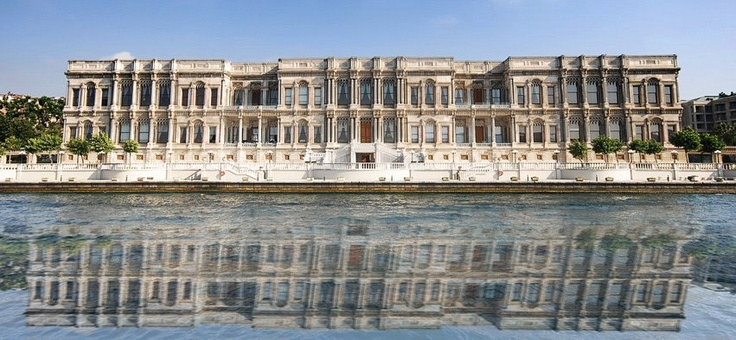 Reflected palace of the city!