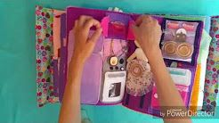 fabric dolls house tutorials - YouTube