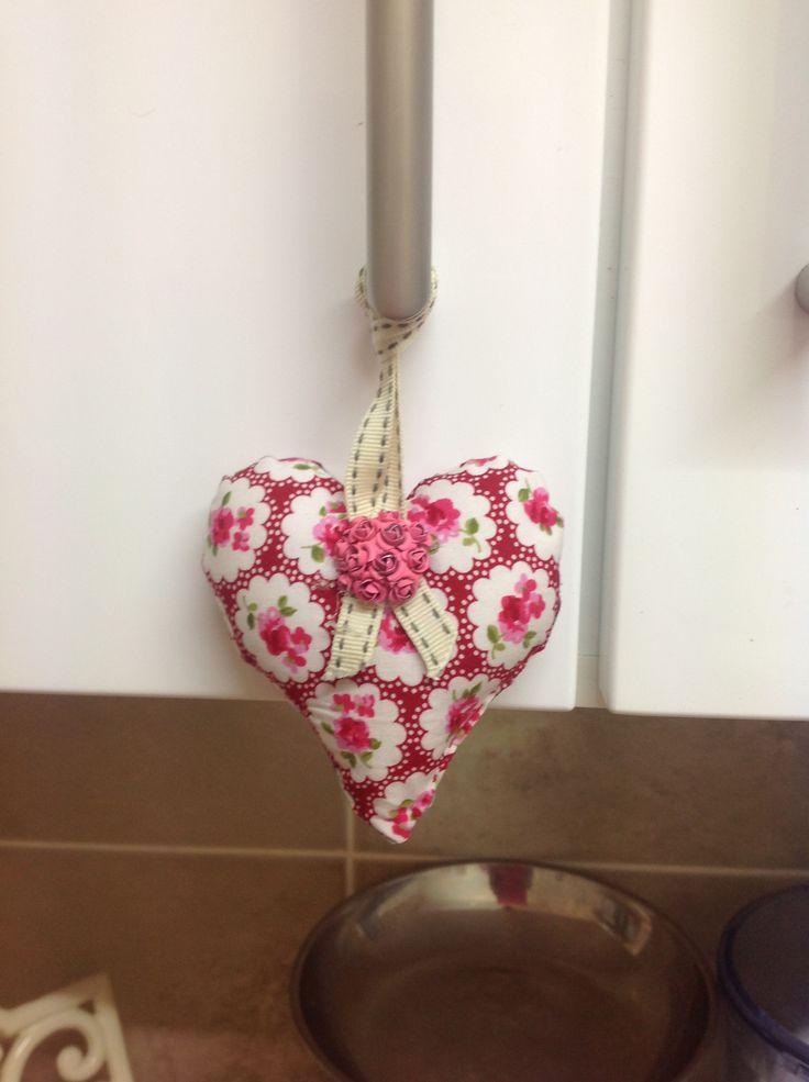 Fabric love heart