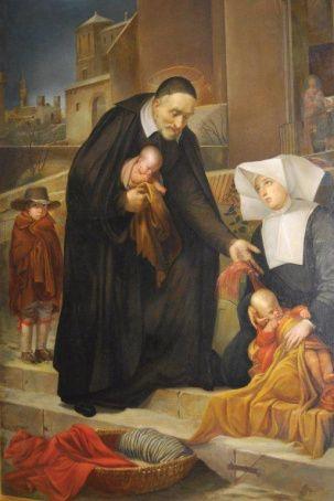27 septembre : Saint Vincent de Paul 4f8dc57e417b452c117188d8ab804c31