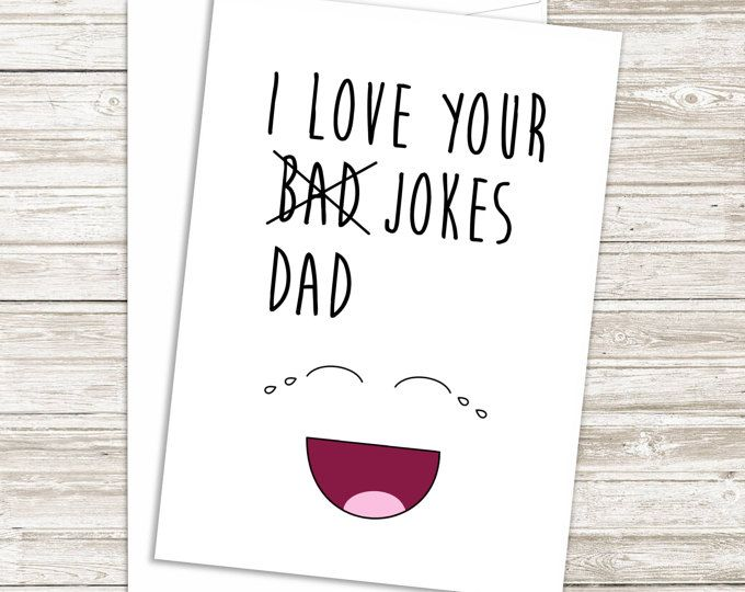 Funny Fathers Day Card - Funny Card For Dad - Fathers Day Card from Son - Father...