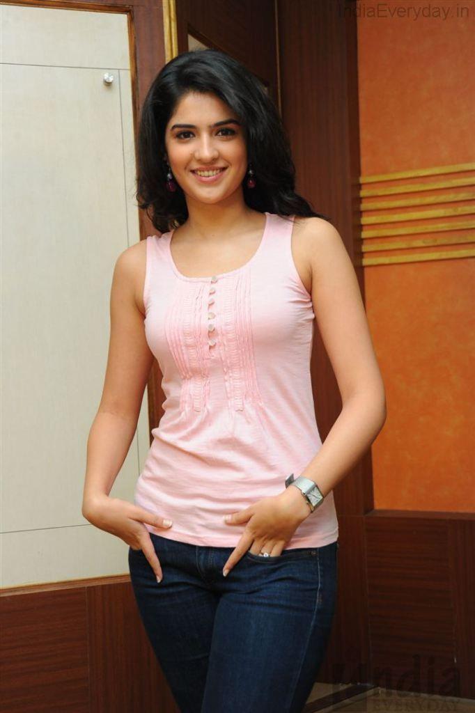 Deeksha Seth Hot In Pink Top