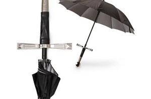 cool thing: sword umbrella