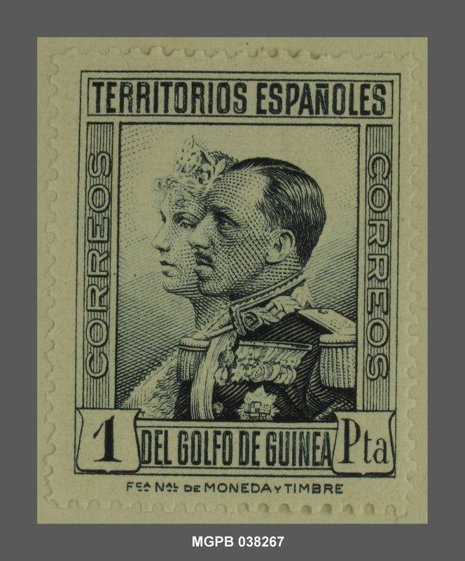 1 pesseta Alfons XIII d'Espanya i Victòria Eugènia de Battenberg