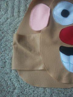Always Homemade: Mr & Mrs Potato Head Costume