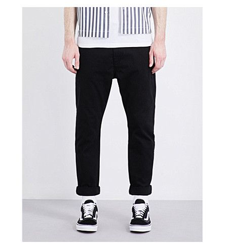 TOPMAN Standard-Fit Tapered Chinos. #topman #cloth #pants & shorts