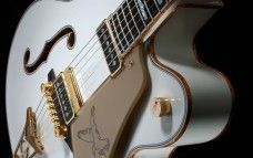 White, Guitar