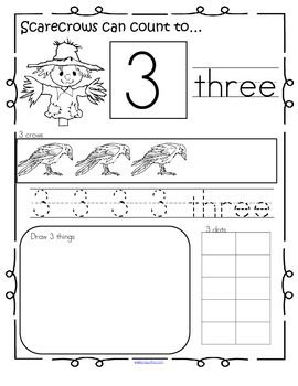 This is a collection of activity pages reviewing some different forms that numbers can take, for young children. The numbers being reviewed are from 1-20. This set can be used with a Scarecrow or Fall/Autumn theme unit.