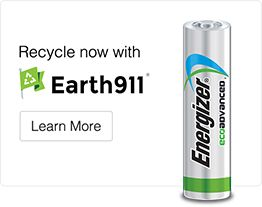 Energizer EcoAdvanced Recycled Batteries: for those in the US (except CA), alkaline batteries are no longer considered hazardous and can be put in regular trash. However, that doesn't mean we can just toss them - how about recycling instead?