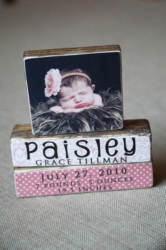 DIY Photo blocks ~ love!