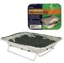 Milestone Camping Standard Disposable BBQ - Silver, 450 g by Milestone Camping. Milestone Camping Standard Disposable BBQ - Silver, 450 g. 450 g.