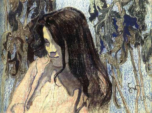 Stanisław Wyspiański Portret Elizy Pareńskiej, 1902
