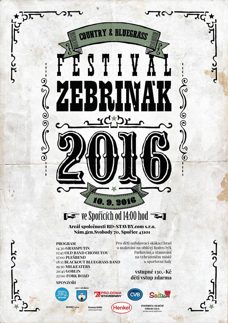 Country and Bluegrass festival Žebřiňák 2016
