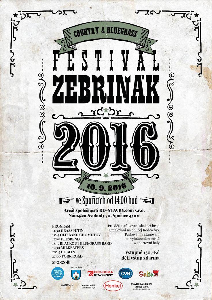 Country and Bluegrass festival Žebřiňák 2016