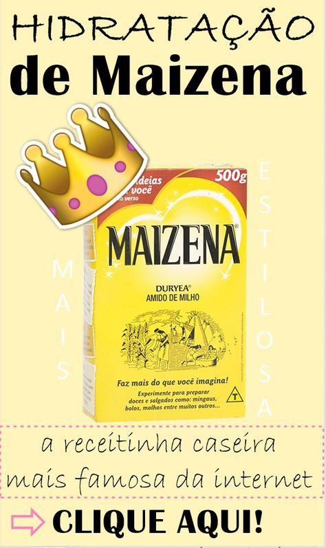 HIDRATAÇÃO DE MAIZENA: Alisa e reconstrói!  A receita caseira mais famosa da internet com ingredientes super potentes! #maizena #hidrataçãodemaizena #maizenanocabelo #amidodemilho #hidrataçãodeamidodemilho #hidrataçãocaseira #hidratação #hidrataçãocaseira #hidrataçãoquealisa  #hair  #receitacaseira #dicas #dicasdecabelo  #natural #natureba #dicasdebeleza #projetorapunzel  #longhair #diy #facavocemesma #beauty #hair #homemade