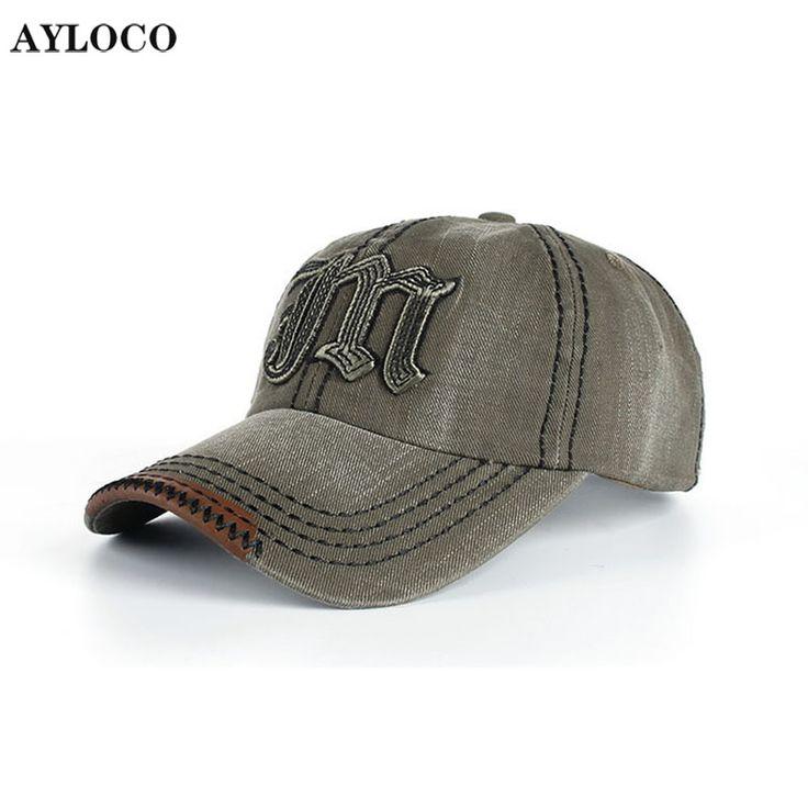 AYLOCO Brand Baseball Cap Men Snapback Cap Hat Women Vintage Baseball Hat For Men Casquette Bone Sports Cap Sun Hat Gorras  #Affiliate