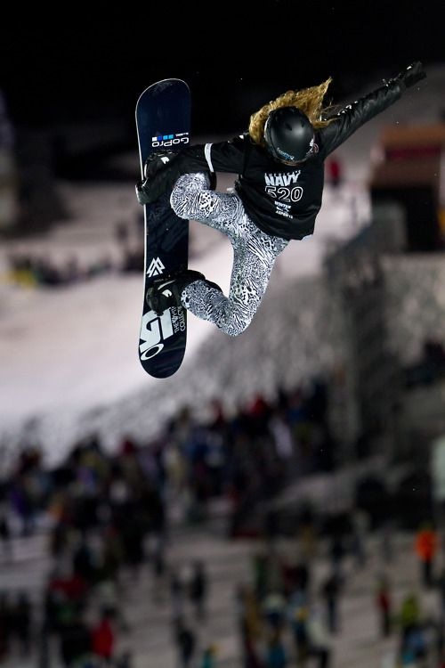 Shaun White ~ 2x Olympic Gold Medalist & 13x X-Games Gold Medalist in Snowboarding.