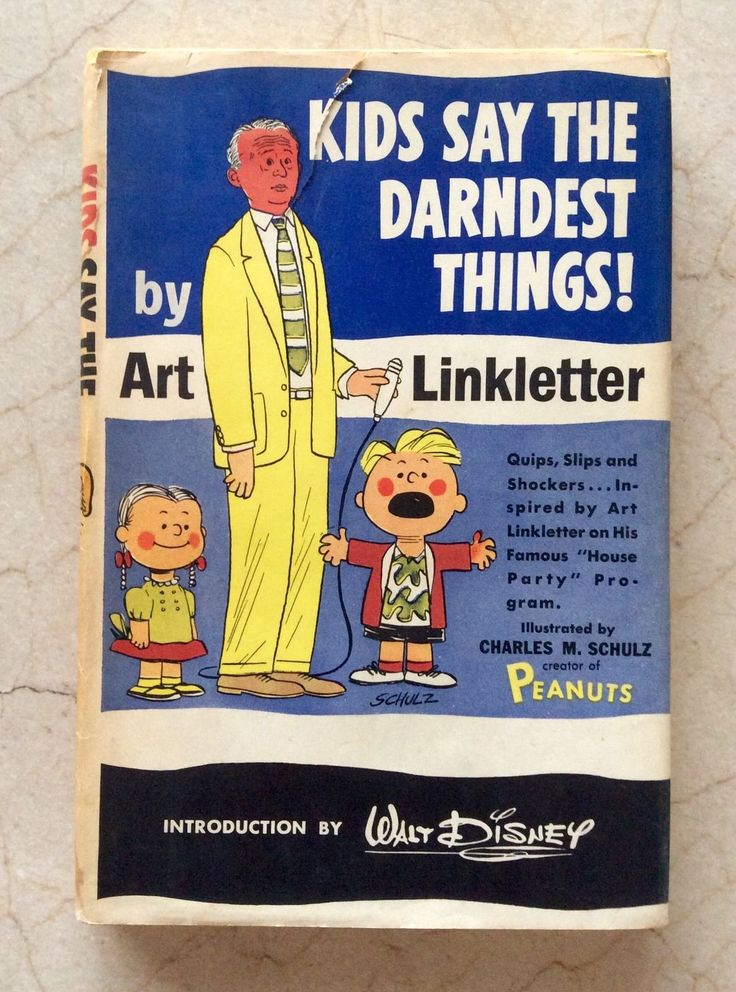 Kids Say The Darndest Things By Art Linkletter Vintage 1957 Book
