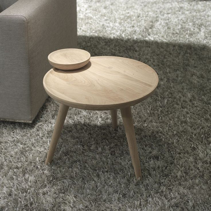 cofee table by WEWOOD Contemporary Design of Retro Inspiration: Joseph Family Table Set