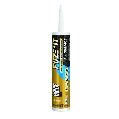 Liquid Nails Liquid Nails Fuze It 9 oz. All Surface Construction Adhesive-LN-2000 - The Home Depot