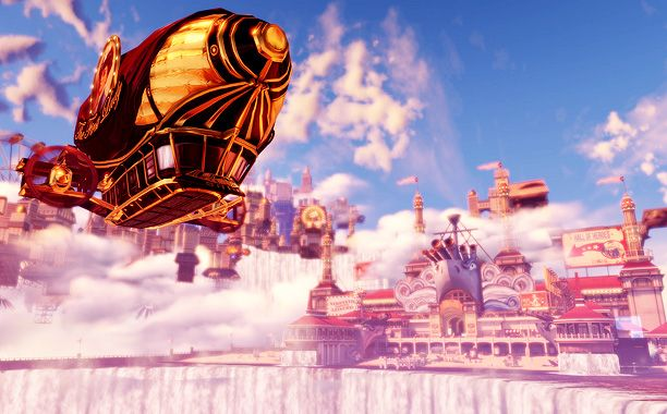 49 best Beyond the Gate   Engine World images on Pinterest ... Floating City Steampunk