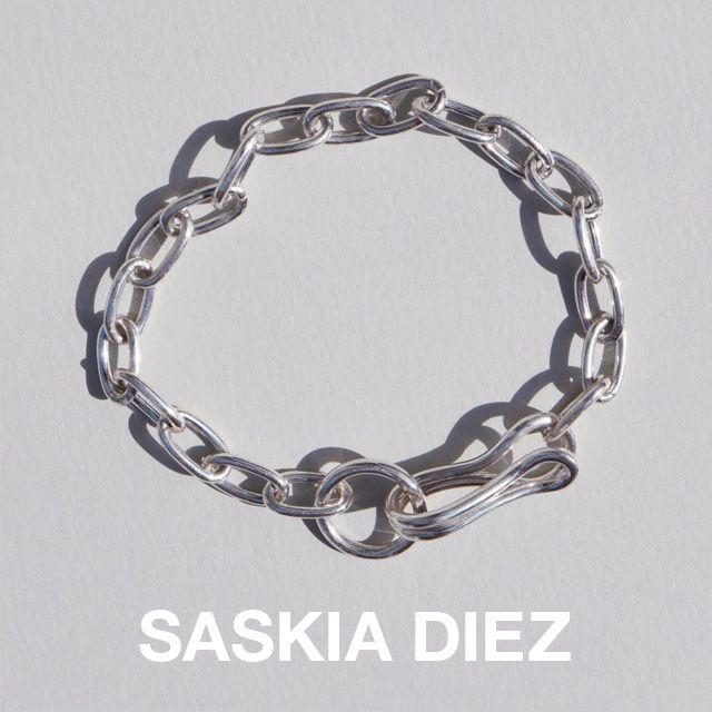 【送料無料】無料ラッピング 誕生日 プレゼント。【送料無料】SASKIA DIEZ サスキア ディッツ GIRLFRIEND BRACELET 925 Sterling Silver ガールフレンドブレスレット シルバー プレゼント セレクトショップ取り扱い