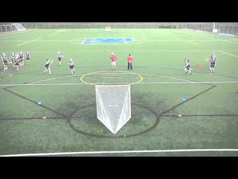 Change of Direction Drill (Women's) - YouTube