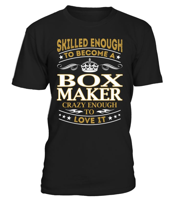 Box Maker - Skilled Enough To Become #BoxMaker