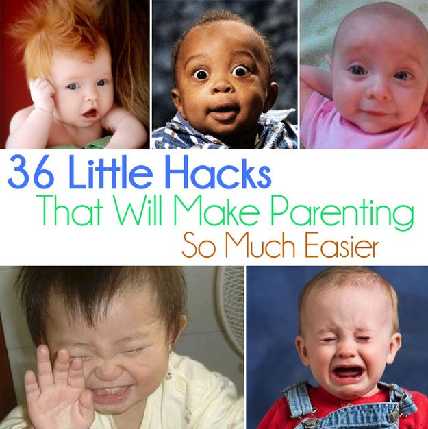 Some more awesome parenting hacks for when I have kids!