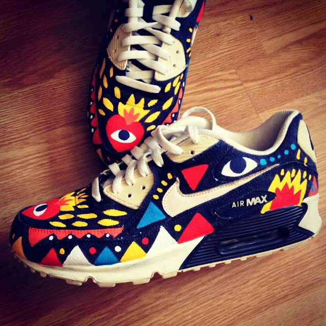 finest selection 3f48a daae8 ... Nike Air Max 90 customized by Ricardo Cavolo. ...