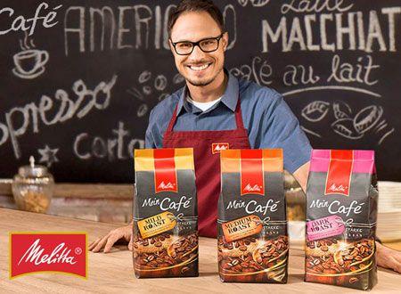 Inspiriert von euren Lieblingscafés hat Melitta® drei neue Kaffeesorten mit unterschiedlichen Röstgraden kreiert. Melitta® Mein Café Mild Roast, Medium Roast und Dark Roast – schmeckt von fruchtig-mild bis schokoladig-kräftig. Im Geschmack so vielfältig und individuell, wie wir Menschen selbst!   Melitta® Mein Café gibt es als Ganze Bohnen für den Kaffeevollautomaten. Mit jeder Tasse schmeckt man das ganze Handwerksgeschick, die jahrelange Erfahrung und die Liebe zum Kaffee.