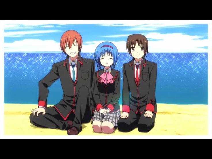 Kyousuke, mio and riki
