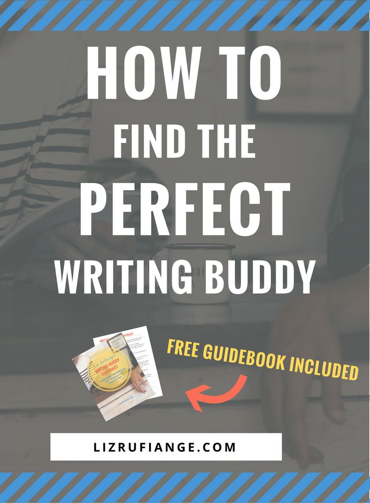 How to find the perfect writing buddy to get feedback on your writing. Free guidebook included for productive and positive interactions. via @lizrufiange
