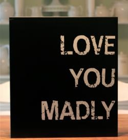 Love You Madly Cake Doors