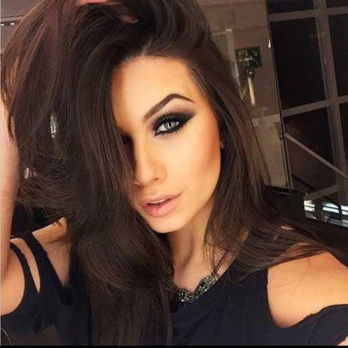 Best 25  Shades of brown hair ideas on Pinterest  Different brown hair colors, Brown hair