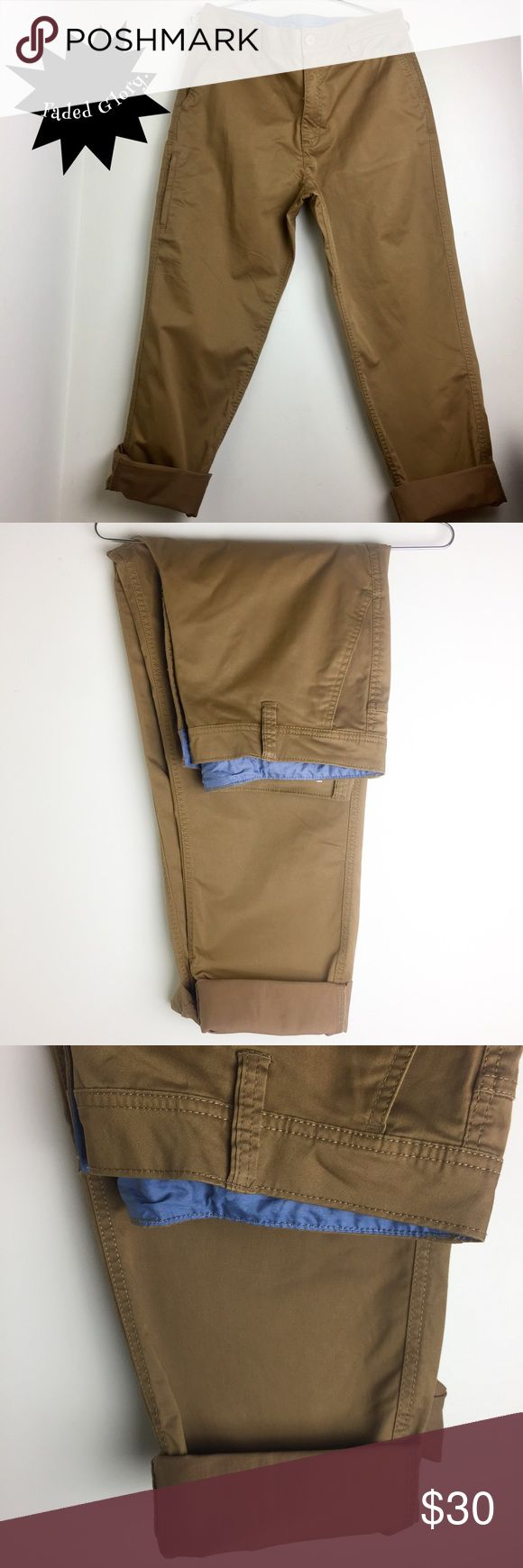 Faded Glory khaki pants. Size34/32. This cute pants are ready to go to a new lovely lady• New WT• cool cut• Two packets on the front plus a side one with a zipper • 34-32• Check all pictures please• questions please ask• No Trades• No 🅿️🅿️• Fast Shipping. Faded Glory Pants Capris