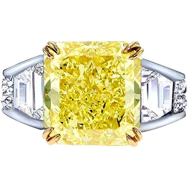 Diamond Rings Yellow