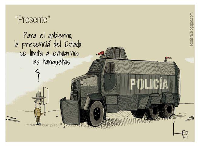 Presencia estatal - Vía @Revista Semana