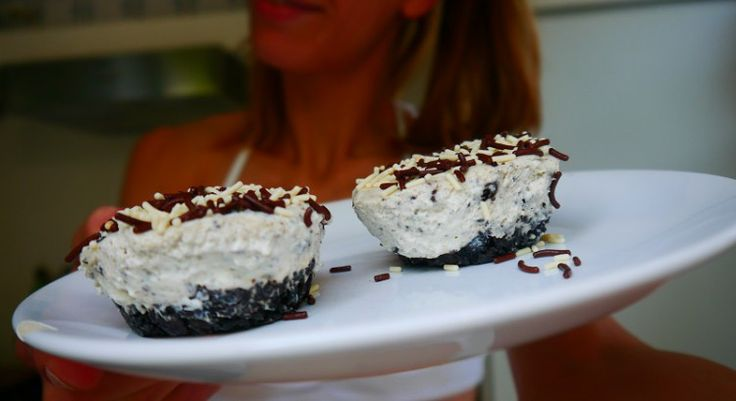 BAKE | Mini Oreo no bake Cheesecake met kwinkslag