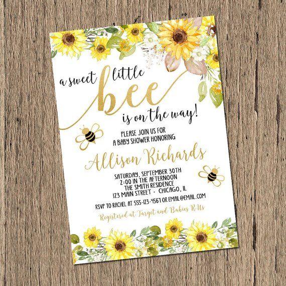 Pin By Sierragissel On Gender Reveal In 2019 Sunflower Baby