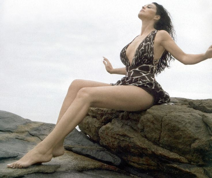 Monica Bellucci, is an Italian actress and fashion model.