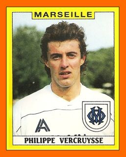Old School Panini: OM - Monaco : Finale de la coupe de France 1989